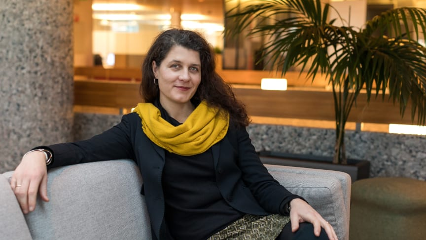 Daglig leder i Grønn Byggallianse, Katharina Th. Bramslev, er glad for å ha blitt med i kommunalministerens innspillsforum for arkitektur, bokvalitet og nabolag.