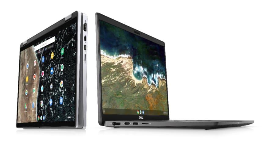 Nya Dell Latitude Chromebook Enterprise - säkerhet och trygghet för distansarbetare med höga krav