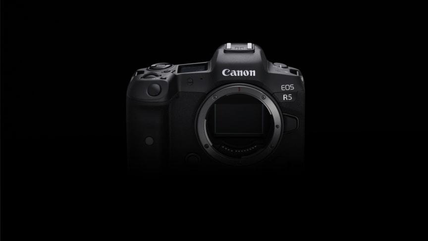 Flere specifikationer for Canon EOS R5 afsløres