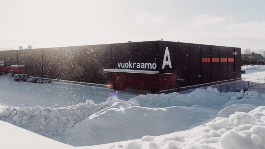 Uusi logistiikkakeskus on vuokrausalan suurin.