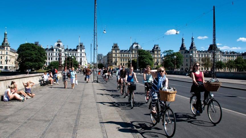 Förmånscykel är en del av hälsosam och miljöriktig trend där allt fler väljer cykel framför bil.