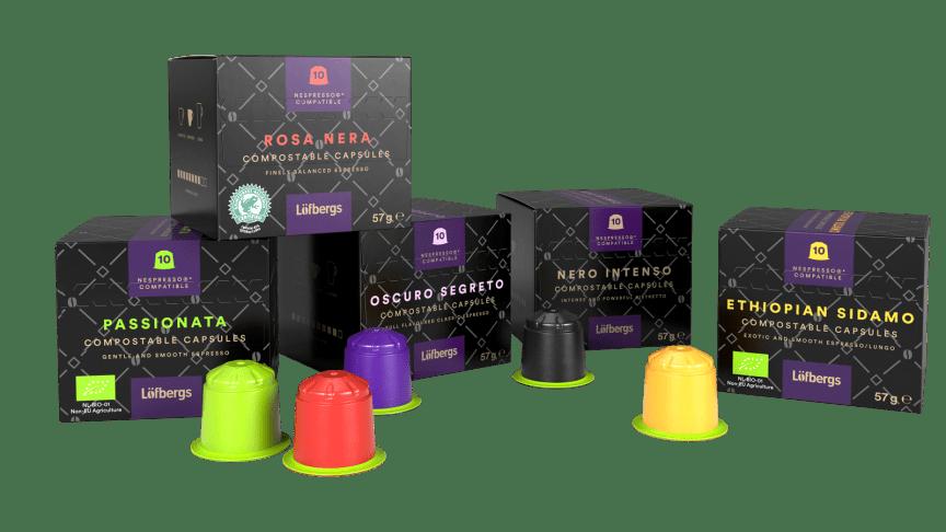 Plant based capsules challenge Nespresso®