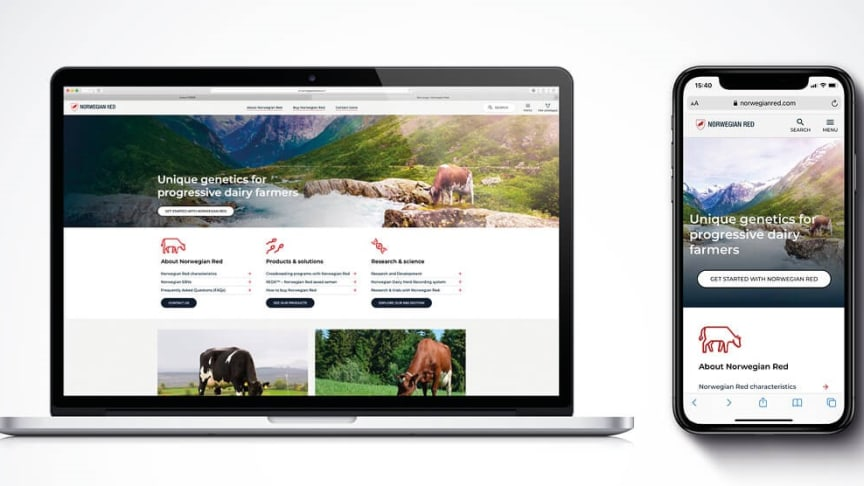 The new website release is part of Geno's continuous ambition to connect and engage with the dairy industry partners and progressive farmers in the transformative digital era, globally.