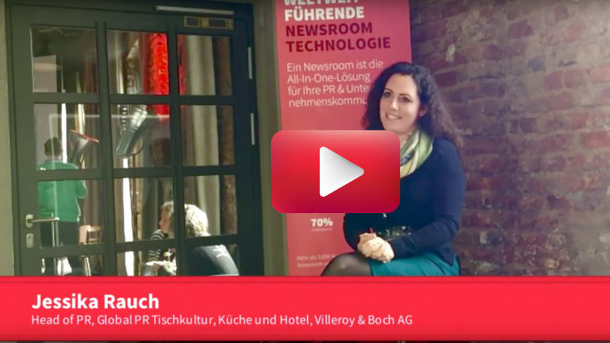 Jessika Rauch (Head of PR, Global PR Tischkultur, Küche & Hotel, Villeroy&Boch AG)