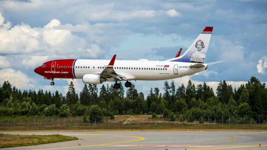 Norwegianin kansainvälinen kasvu jatkui lokakuussa ja liikenne Pohjoismaissa pysyi vakaana