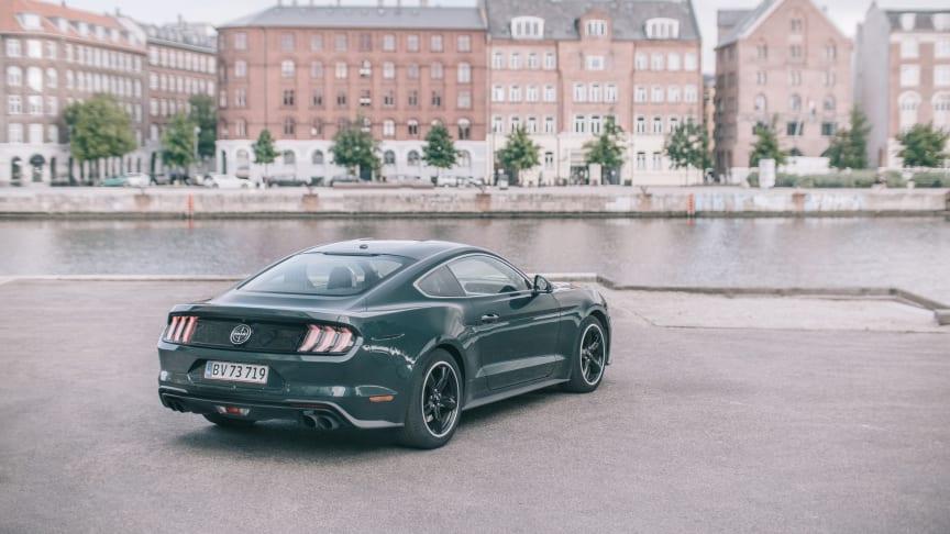 American muscle født på ny: Mustang Bullitts ikoniske design set gennem fotografens linse