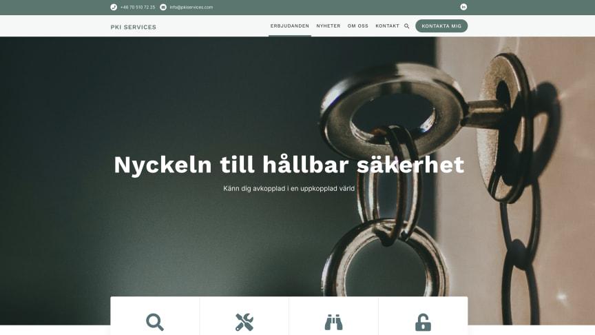 PKI Services nya webb
