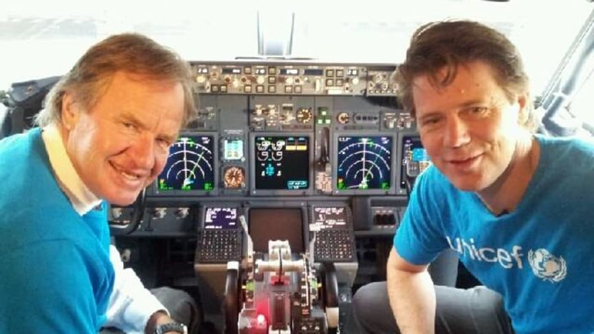 Today, Norwegian will fly a fully loaded aircraft with emergency aid to Africa
