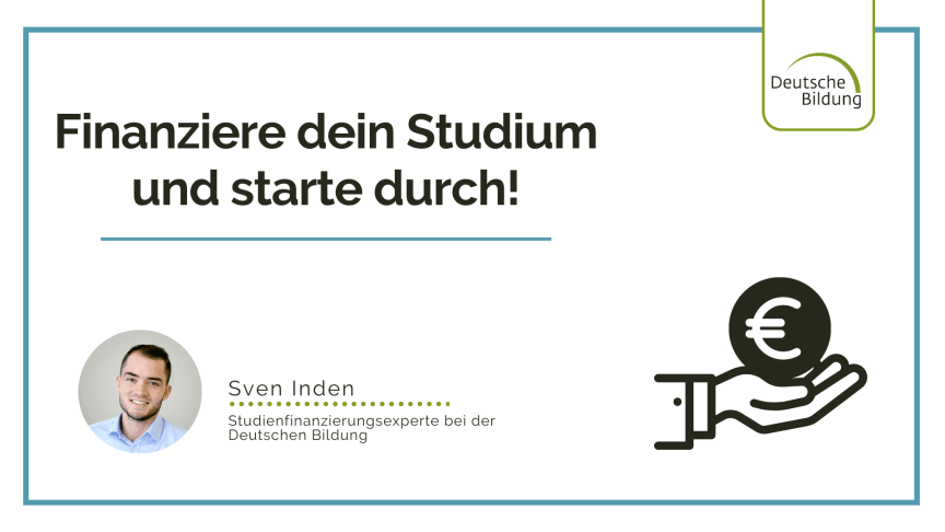 Webinar zur Deutsche Bildung Studienfinanzierung