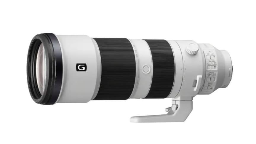 A Sony anuncia a nova FE 200-600 mm F5.6-6.3 G OSS Lente de zoom superteleobjetiva