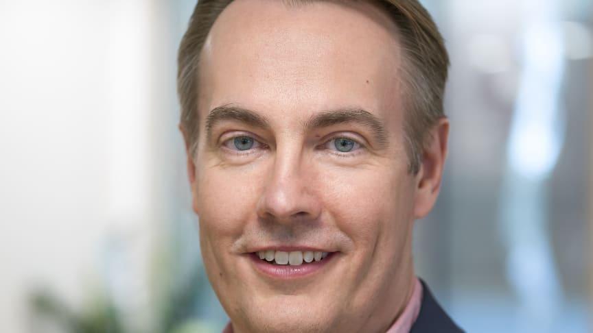 Per Bengtsson, vd på UIC. Foto Göran Ekeberg