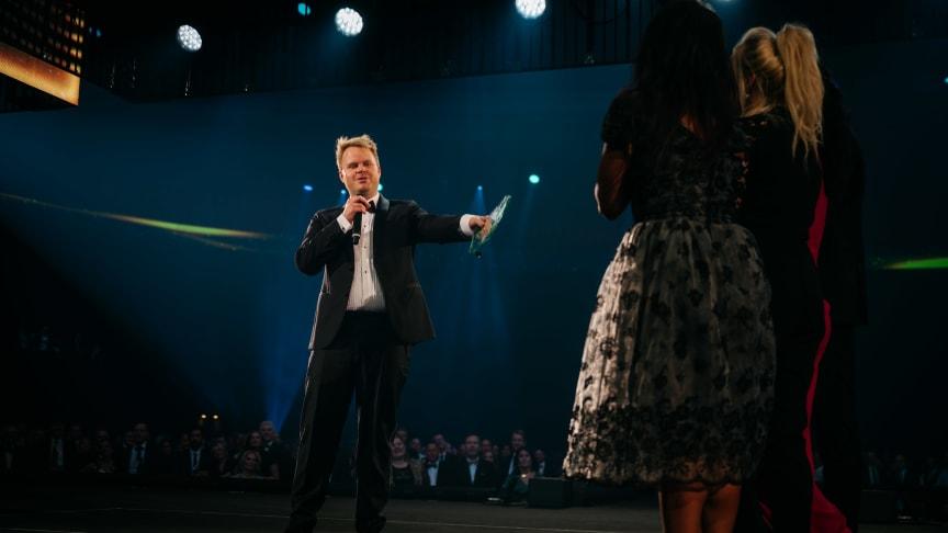 Årets General Manager of the Year - Espen Ravnå fra Comfort Hotel Xpress Youngstorget