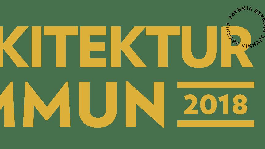 Växjö årets Arkitekturkommun 2018