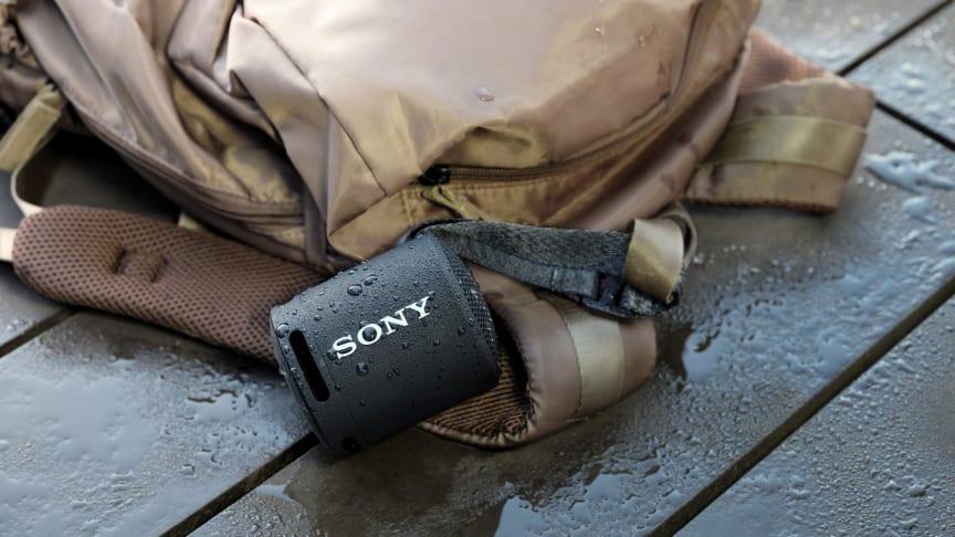 Sony lancerer SRS-XB13: En kompakt højttaler med kraftfuld EKSTRA BASS-lyd