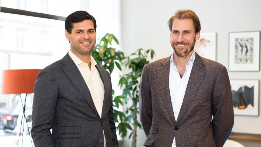 Jonathan Klein (CEO, Co-founder of Brocc) and Patrik Gunnarsson (CBO, Co-founder of Brocc)