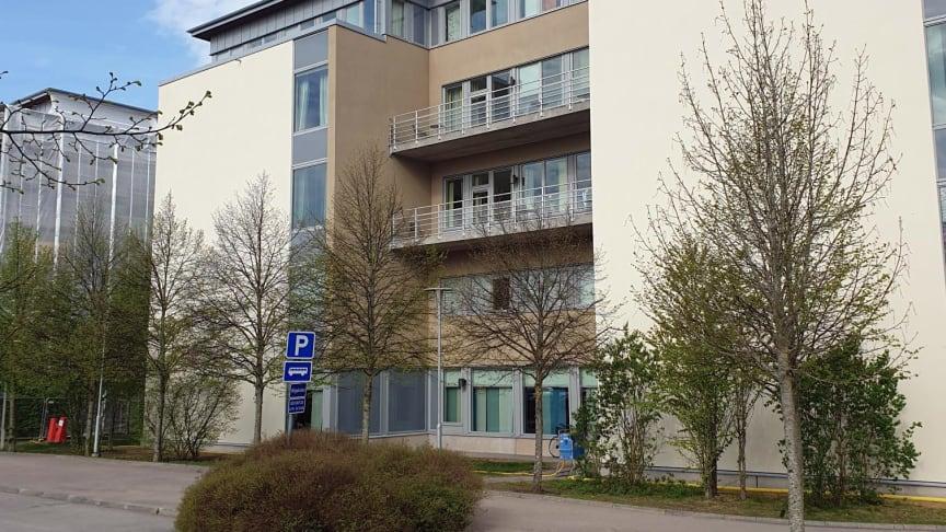 Högskolan Väst i Trollhättan.