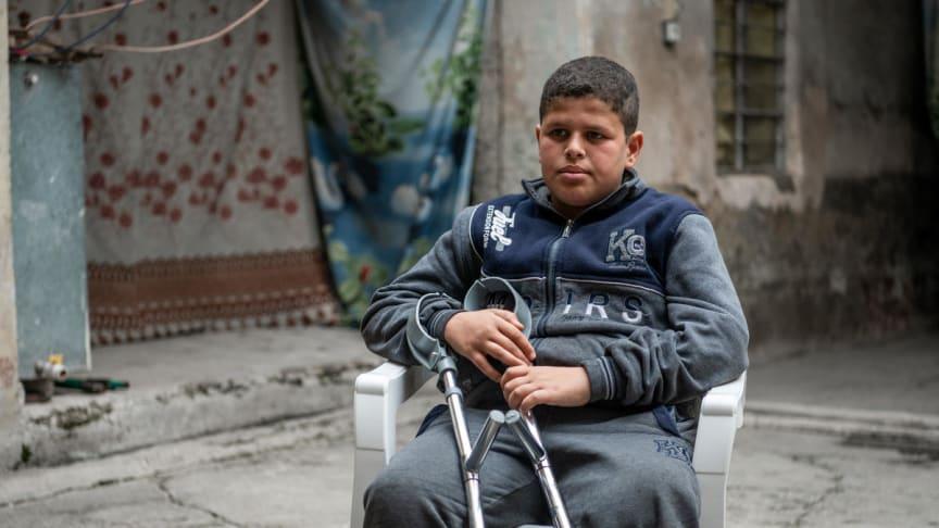 Hussein*, 14 år i Irak