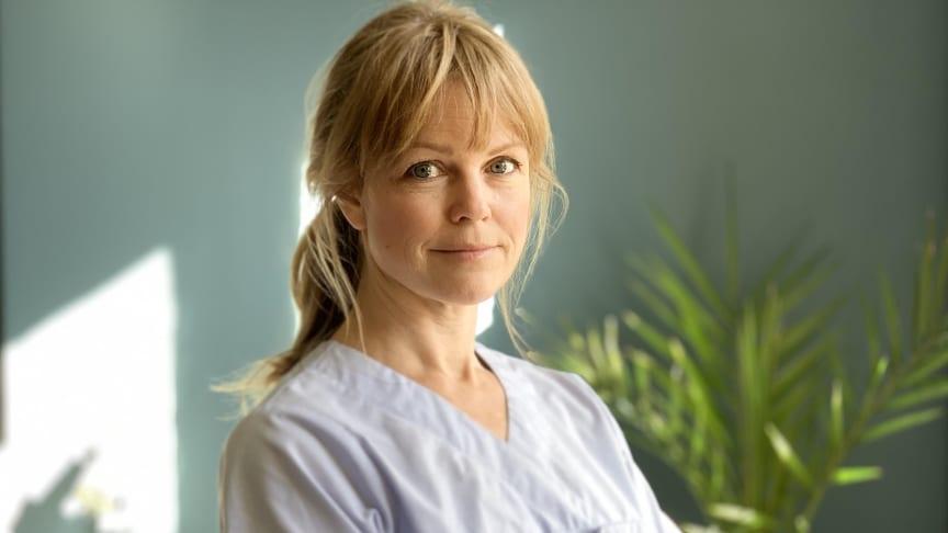 Petra Nordlund, tf ordförande Svenska Osteopatförbundet