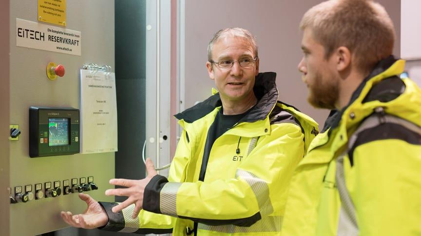 Eitech bidrar med en mix av specialistkompetens för avbrottsfri elförsörjning till sjukhuset i Skövde