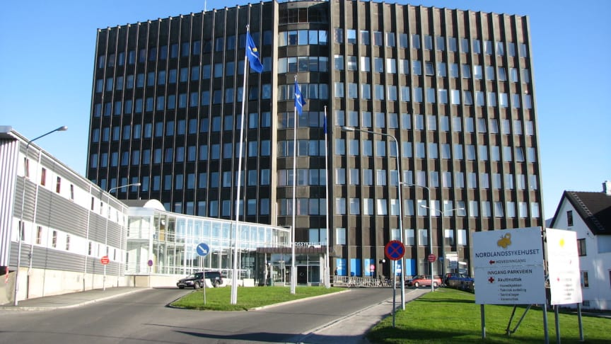 Nordlandssykehuset. Källa: Wikipedia