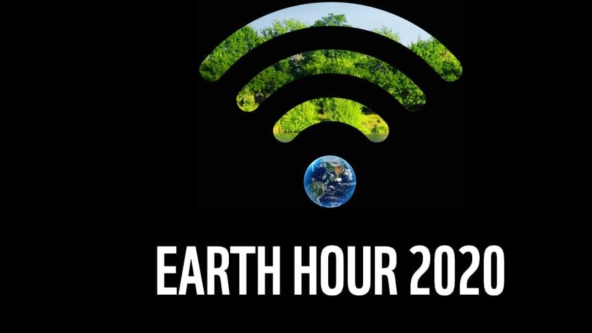 Släck och höj din röst för planeten – på lördag är det Earth hour!