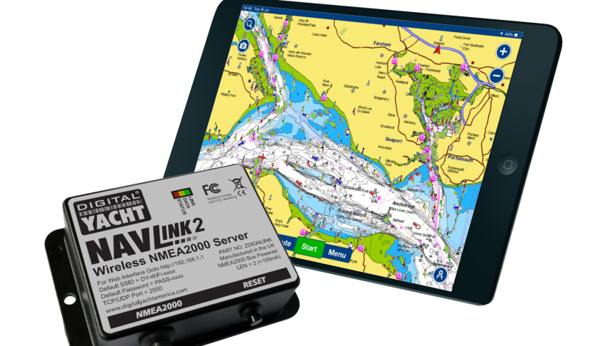 Get AIS data on your Navionics Boating App with Digital Yacht