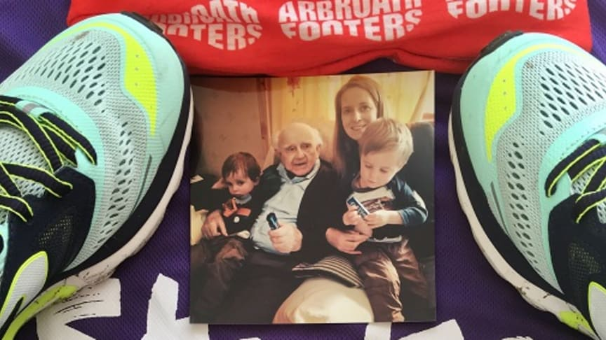 Local woman's fundraising challenge in memory of her grandfather