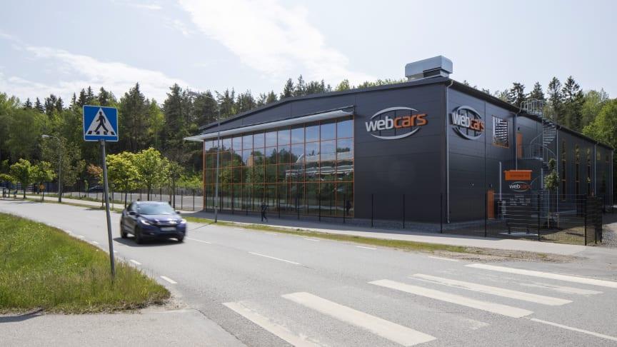 Webcars nya lokaler på Bjursvägen 31 i Upplands-Väsby