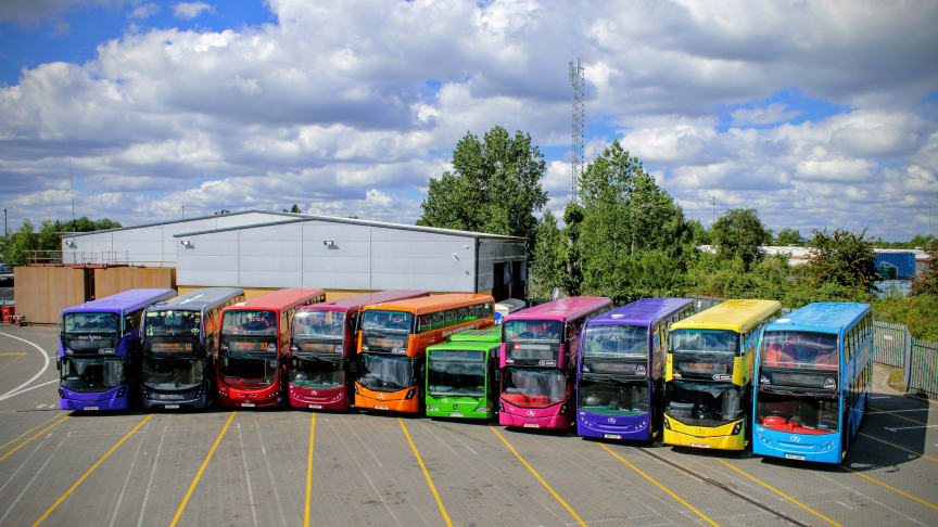 BUS OPERATORS ANNOUNCE PLANS FOR COORDINATED BUS TIMETABLE RAMP UP