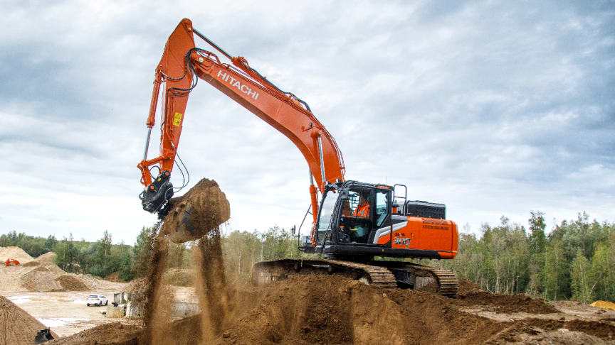 Hitachi Construction Machinery: fleet management and administration made easy