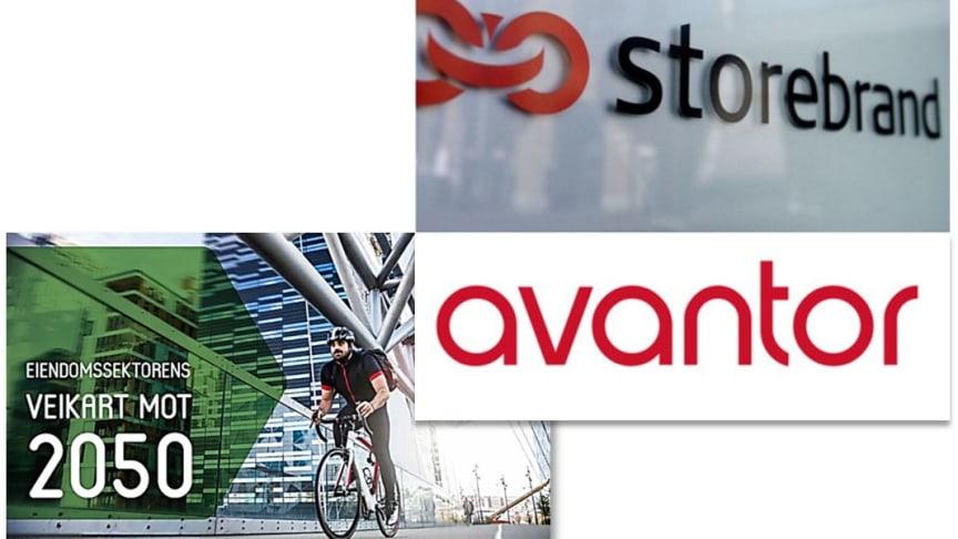 Storebrand og Avantor tilslutter seg de 10 strakstiltakene i Eiendomssektorens Veikart mot 2050.
