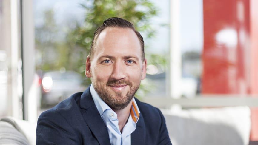 Johan Saxne, Marknadsdirektör BAUHAUS