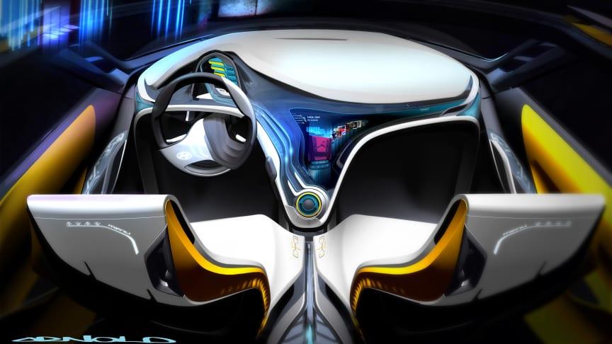 Hyundai med ny konseptbil i Detroit