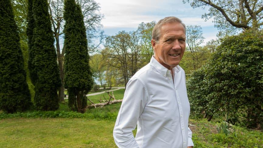 Håkan Dosé tröttnade snabbt på pensionärslivet och är nu ordförande för SLR.