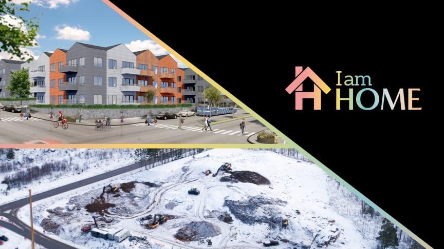 Projektet Ströpstad i Nykvarn om 178 hyresrätter som I am Home sålt till SBB