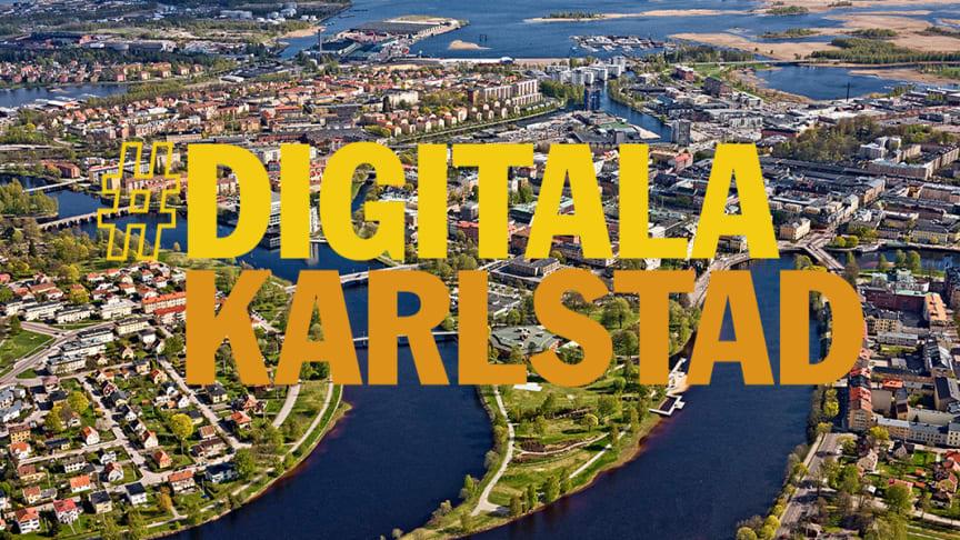 Digitala satsningar skapar mervärde för Karlstadsborna