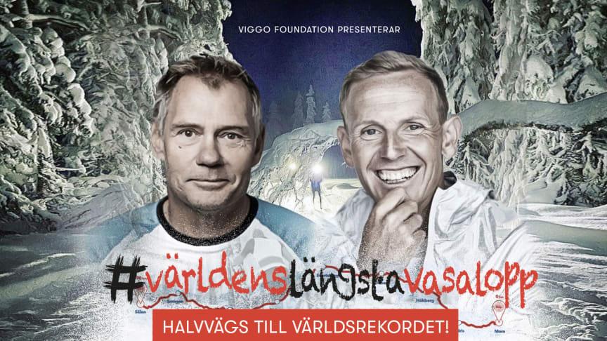 Måns Möller och coach Skog är halvvägs till världsrekordet!