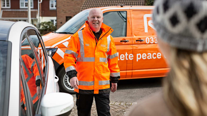 Drivers rate RAC the UK's top breakdown provider in largest survey of its kind