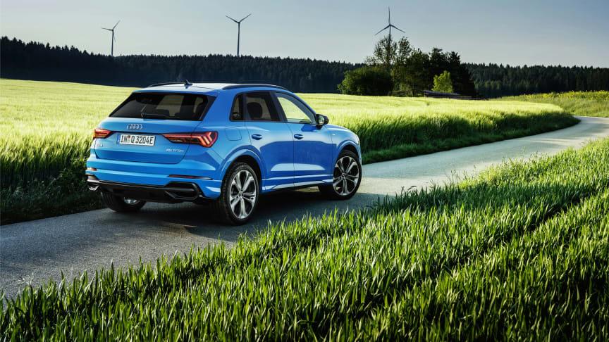 Audi Q3 TFSI e – kompakt SUV som plug-in-hybrid