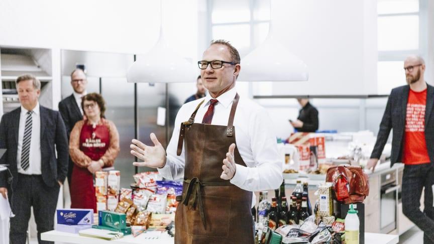Livsmedelsföretagens vd hälsar välkommen till julmatspressträffen
