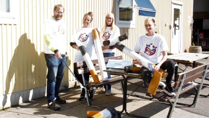 Projektgruppen: Stefan Larsson, Angélique Ohlin, Maria Carlsson, Malin Olsson Lundqvist