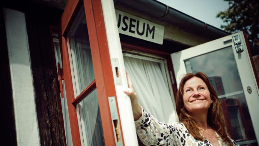 Museumschef Anja Olsen er klar til at genåbne Rudersdal Museer 21. april