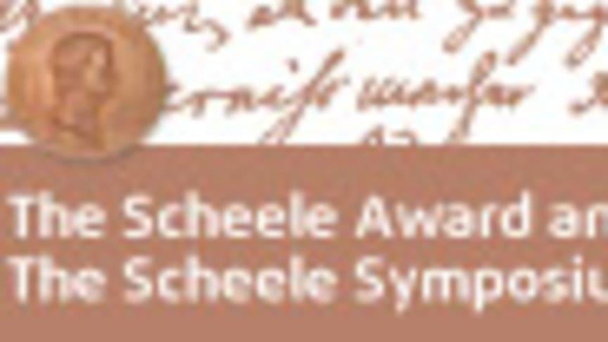 Scheelesymposiet med Scheele Award 13 november i Stockholm