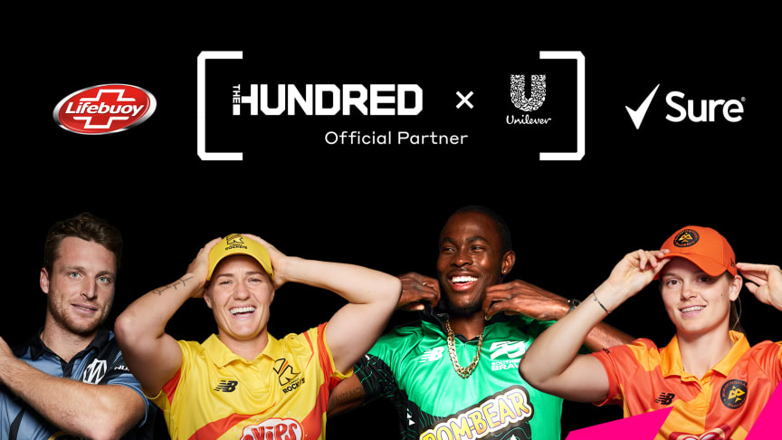 Unilever joins The Hundred as an Official Partner