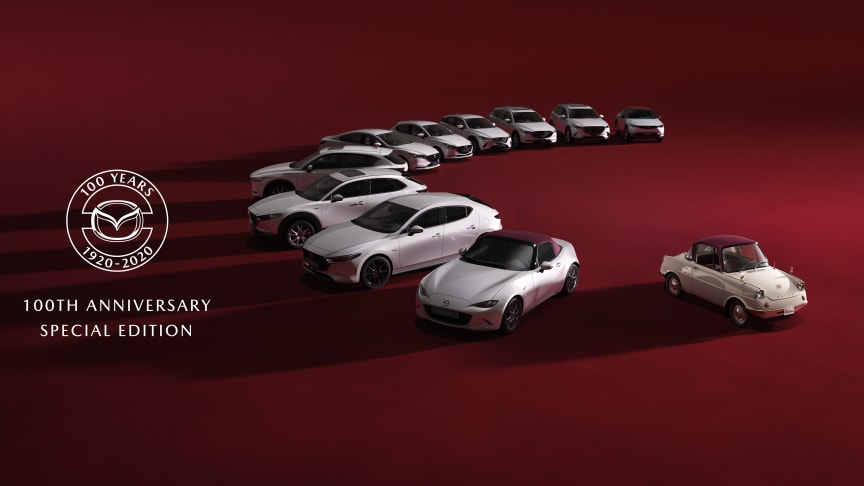 Mazda firar 100 år med specialmodeller