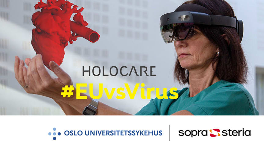 Et samarbeid mellom Sopra Steria og Oslo universitetssykehus. Foto: Sopra Steria