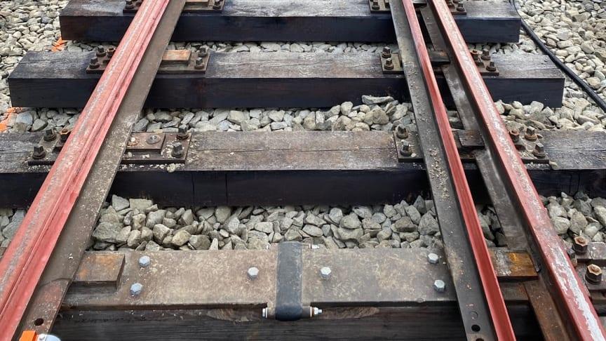 SVEAB Järnväg anlägger nytt Triangelspår i Storuman