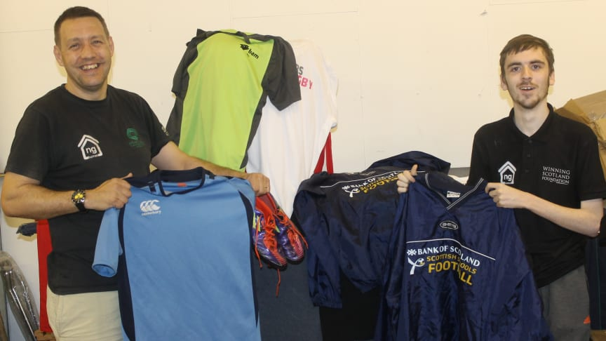 Got any unwanted sports kit?