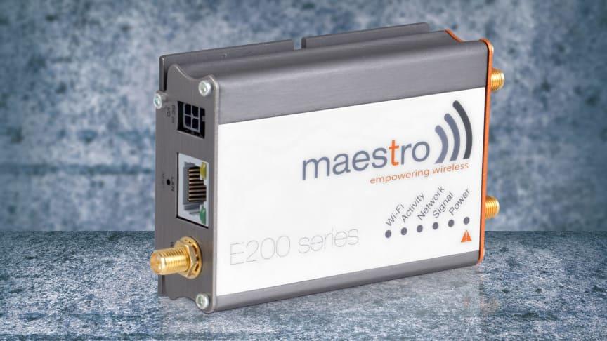 M2M router med litet fotavtryck