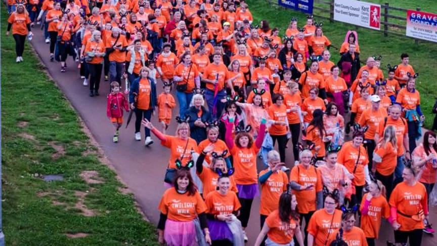 Celebrity support as record numbers turn out for Twilight Walk!